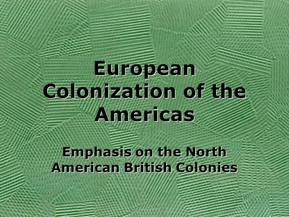 european expansion in the americas Service] indian-european relations in latin america 413  affected by the  expansion of financial empires, and even become a part of them, without their.