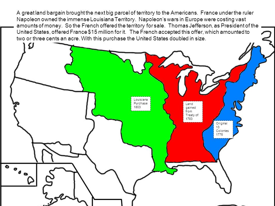 IHB July Through October US History Maps From Kappa - Map of united states and us territories