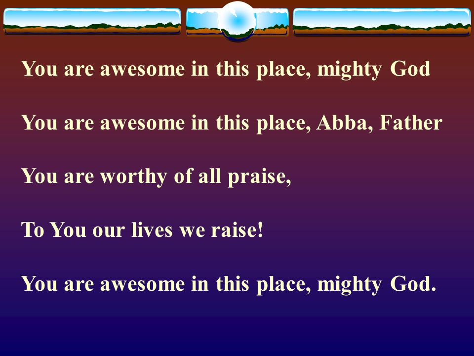 Lyric Lyrics To What A Mighty God We Serve Lyrics To