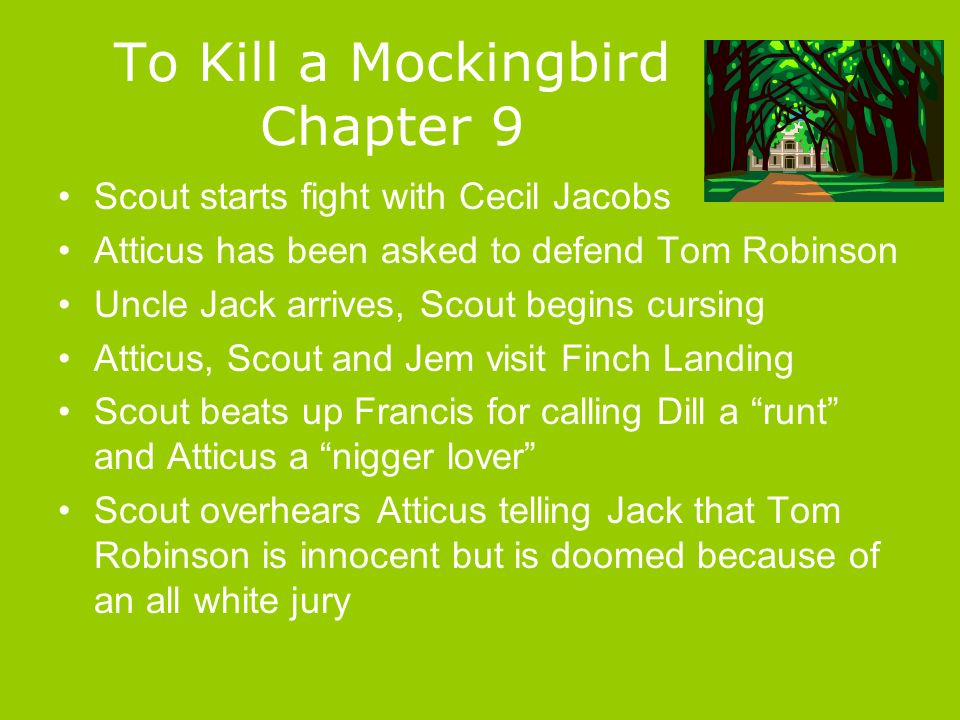 """essay on to kill a mocking bird Scout does not just exaggerate her thoughts and views, she puts emphasis she greatly emphasizes the description of the radley house all throughout to kill a mockingbird, and even referred to miss caroline in that """"she looks and smells like a."""