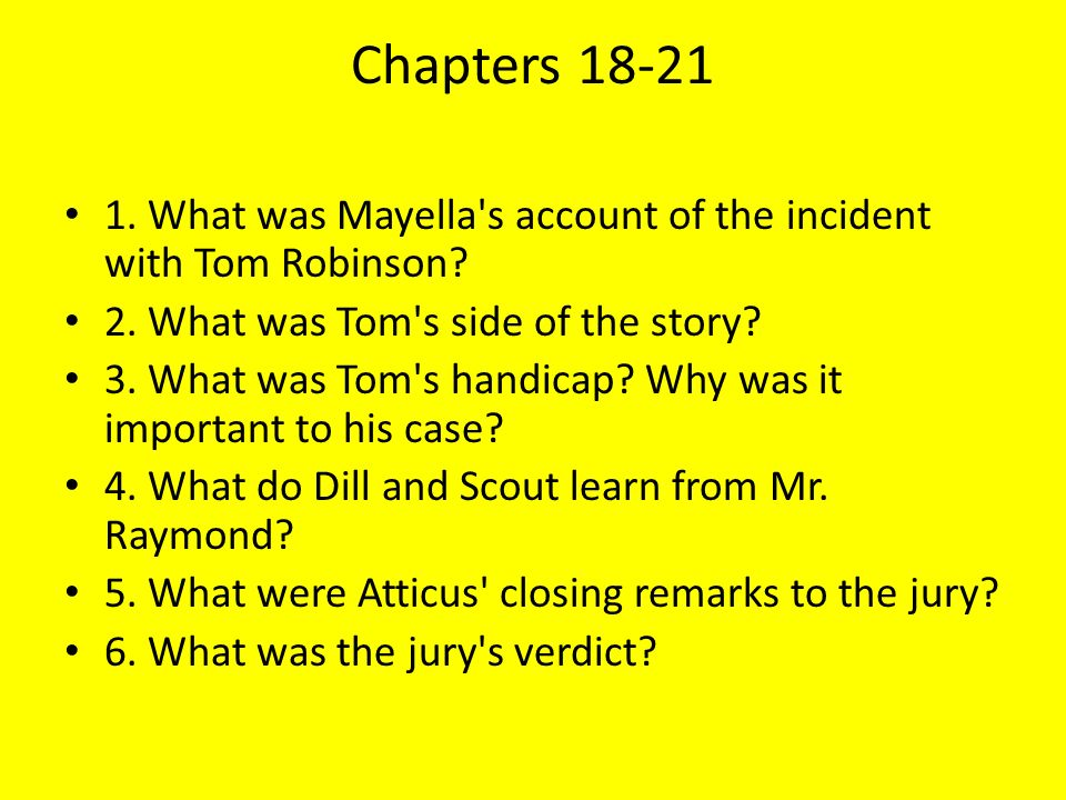 an analysis of prejudice in justice in the case of tom robinson in the book to kill a mockingbird To kill a mockingbird is a book the last two lines in the passage serve as an analogy to the tom robinson case and show analysis tom robinson.
