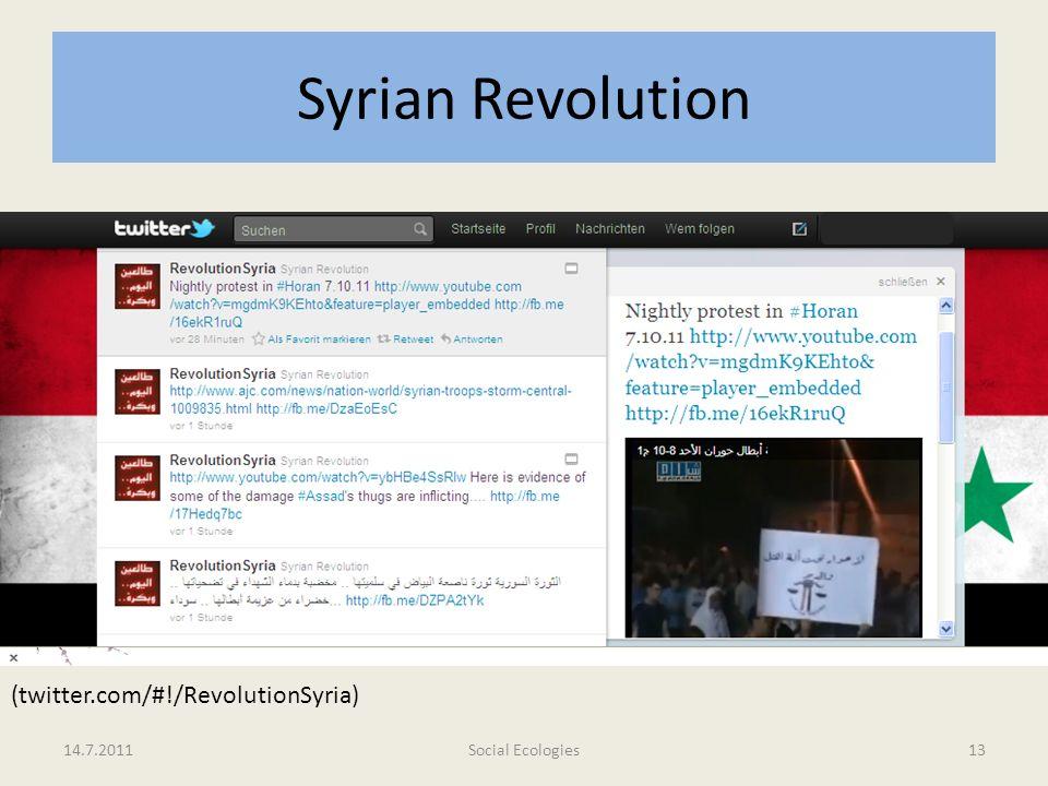Syrian Revolution (twitter.com/#!/RevolutionSyria) 14.7.2011