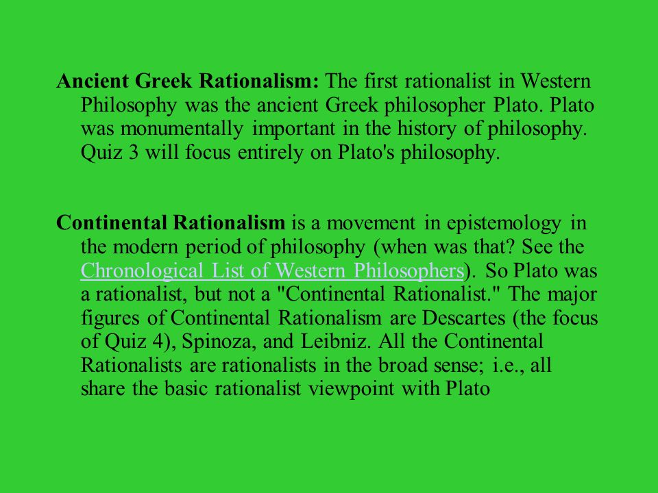 plato defends rationalism Announcements edmentum periodically performs scheduled maintenance on saturdays beginning at 8:00 pm central time through sunday at 2:00 am central time.