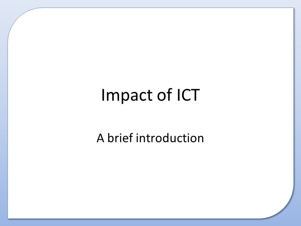introduction to ict Iii contents foreword xi executive summary xiii part 1 introduction chapter 1 ict in primary and post-primary education in ireland 1 11 introduction 2.