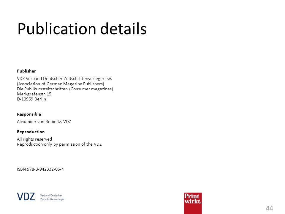 Publication details Publisher