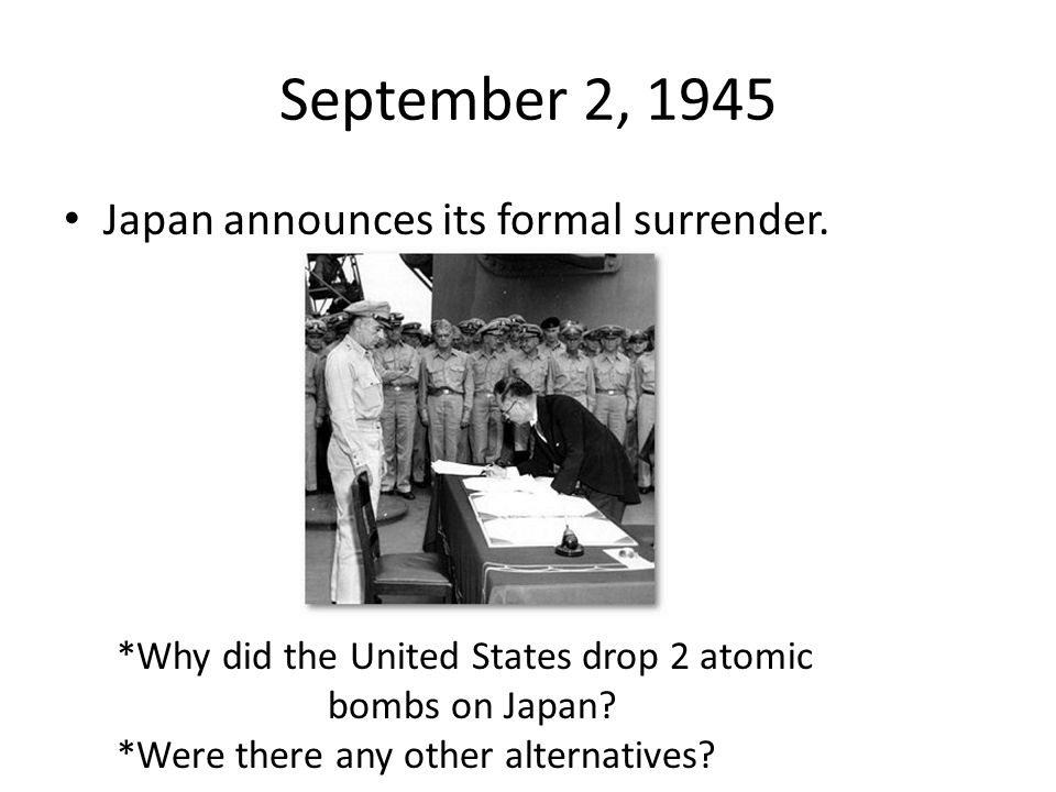 """why the united states dropped the atomic bomb in japan On aug 6, 1945, us war plane enola gay dropped """"little boy,"""" a 8,900-pound atomic bomb, on hiroshima, japan within eight days, japan surrendered, ending world."""