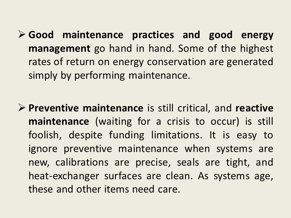 the importance of effective maintenance Learn the difference between effectiveness and efficiency  learn the difference between effectiveness and efficiency and how  it's effective because it.