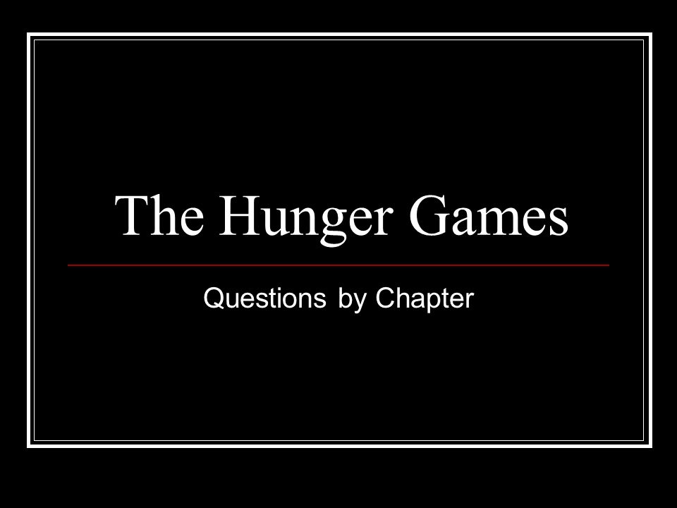a literary analysis of the hunger games This study guide consists of approximately 50 pages of chapter summaries, quotes, character analysis, themes, and more - everything you need to sharpen your knowledge of the hunger games.