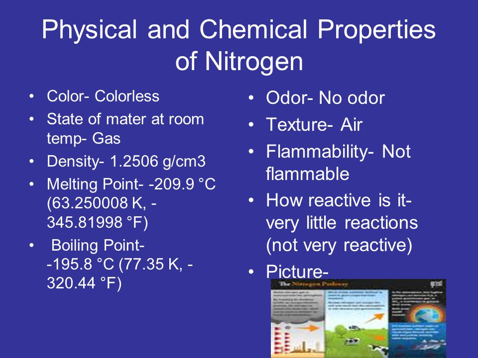 Nitrogen Group Properties 17