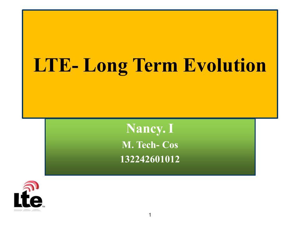 LTE- Long Term Evolution