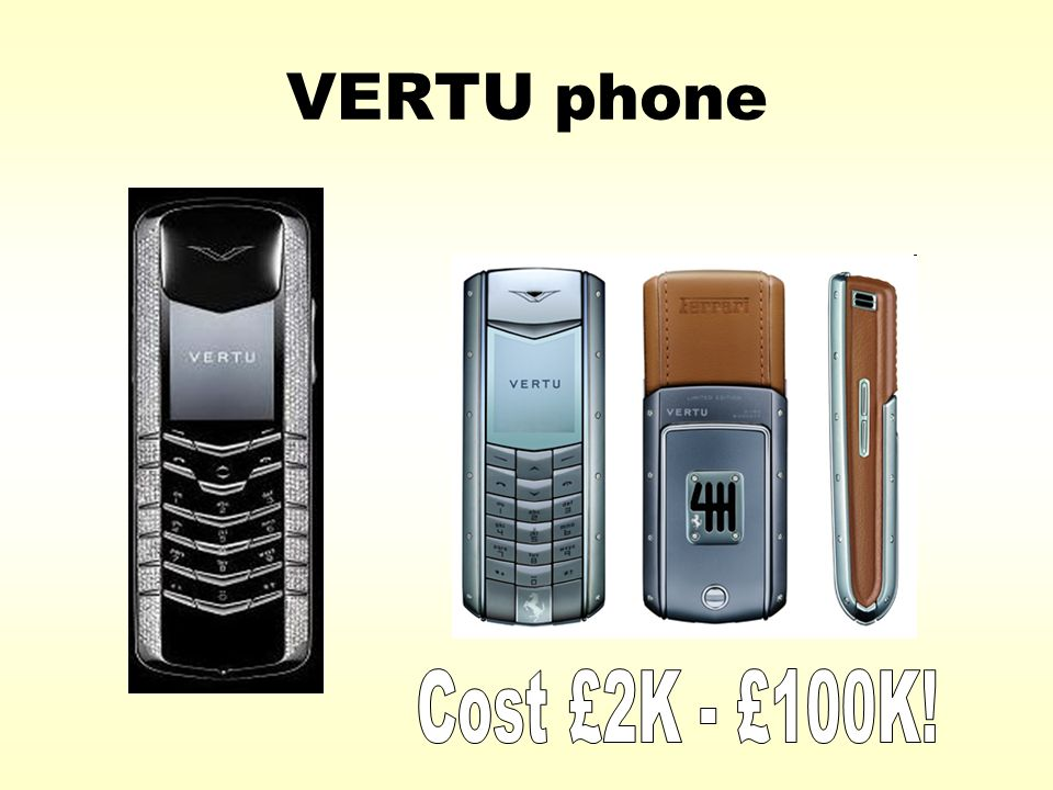 VERTU phone Nokia – aiming at a particular segment of the ...