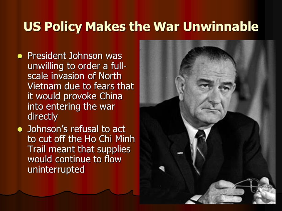 US Policy Makes the War Unwinnable