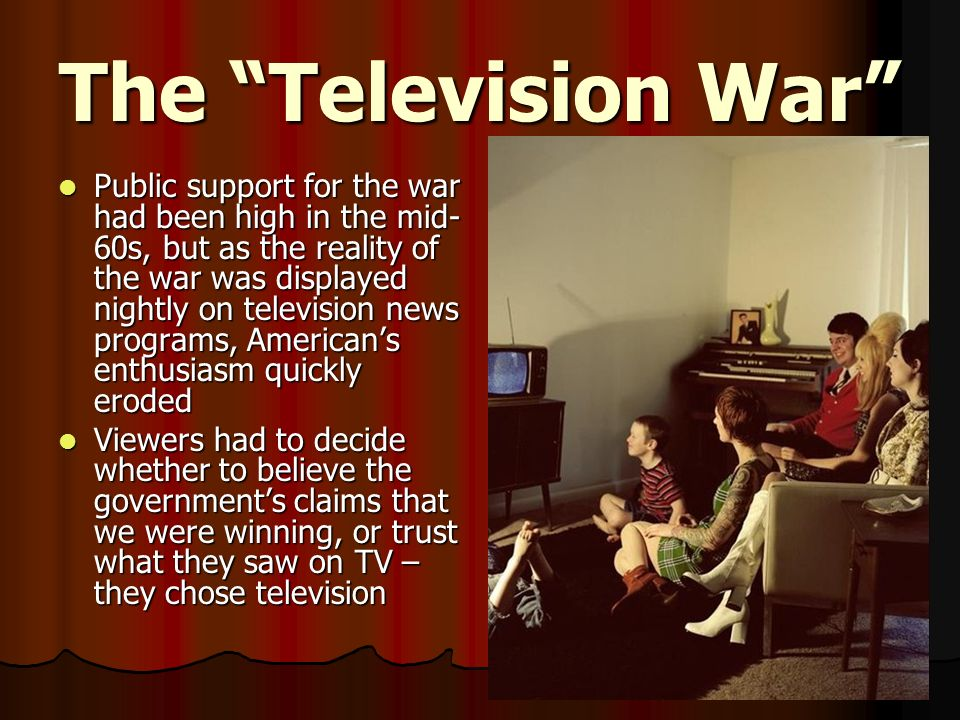 The Television War