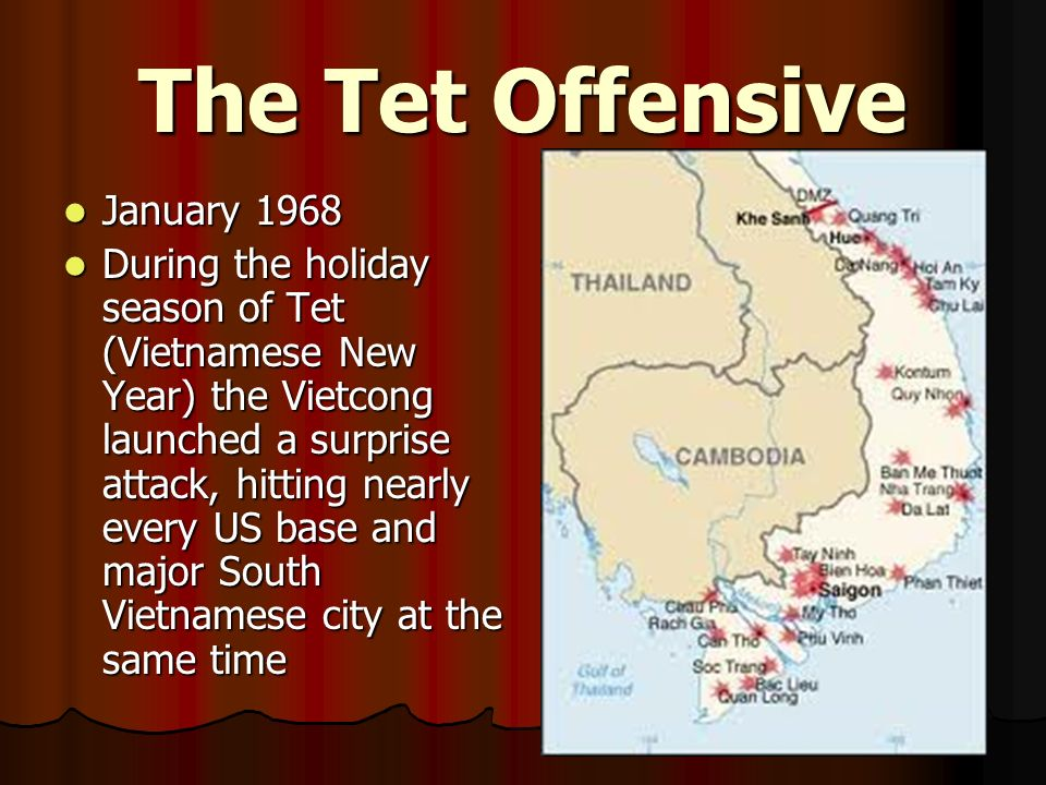The Tet Offensive January 1968