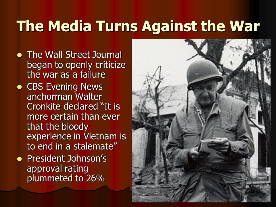 The Media Turns Against the War