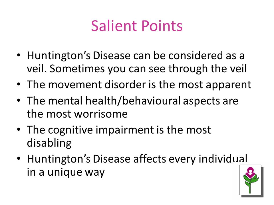 huntington disease overview