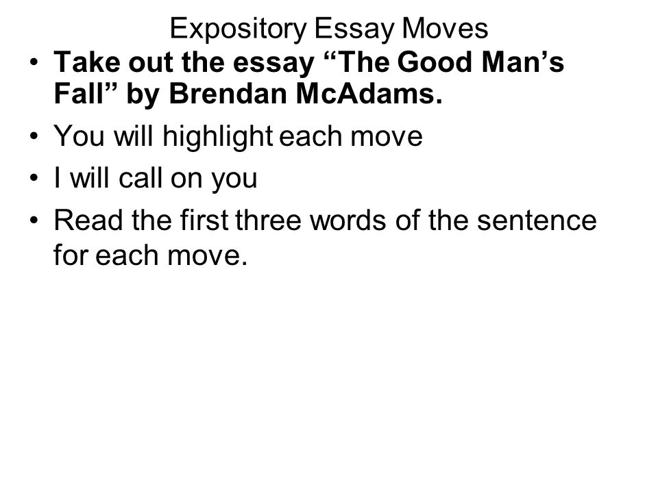 good expository essay hooks