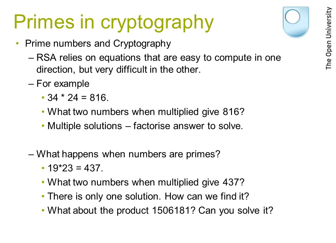 prime numbers in cryptography pdf