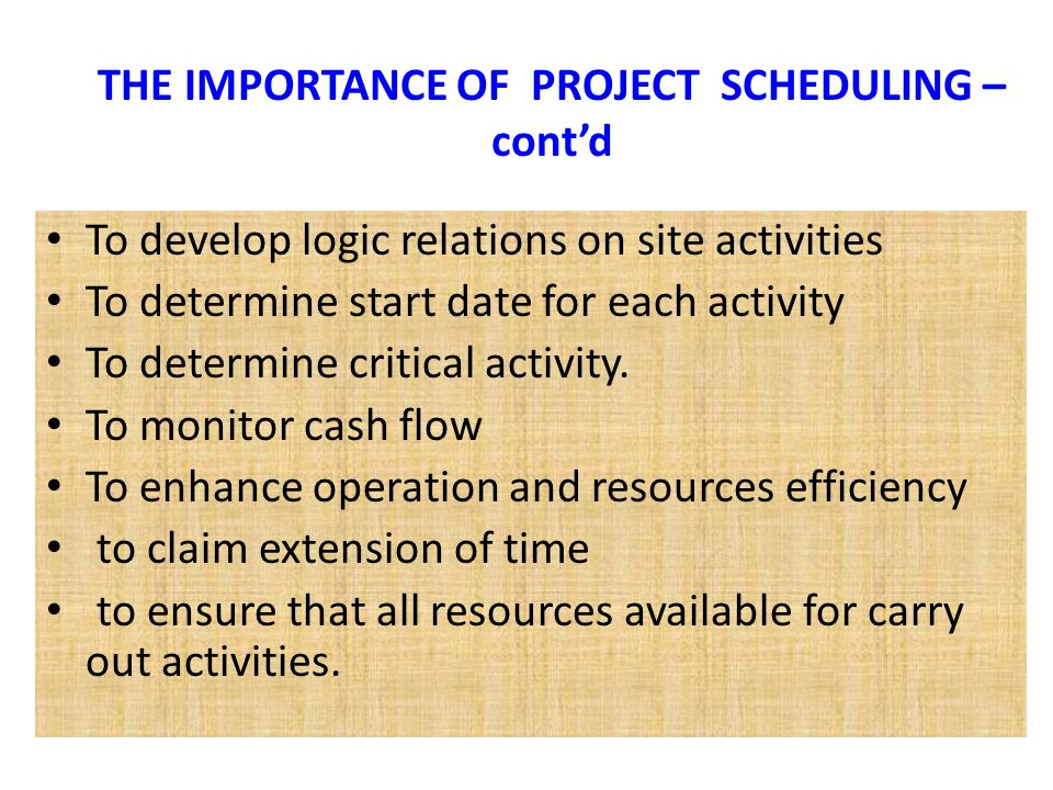 bar chart for schedulling construction Scope of work sewage treatment plant rehabilitation the consultant shall submit a project design and construction bar chart schedule with their the bar chart schedule developed by the consultant shall reflect their recommended project.