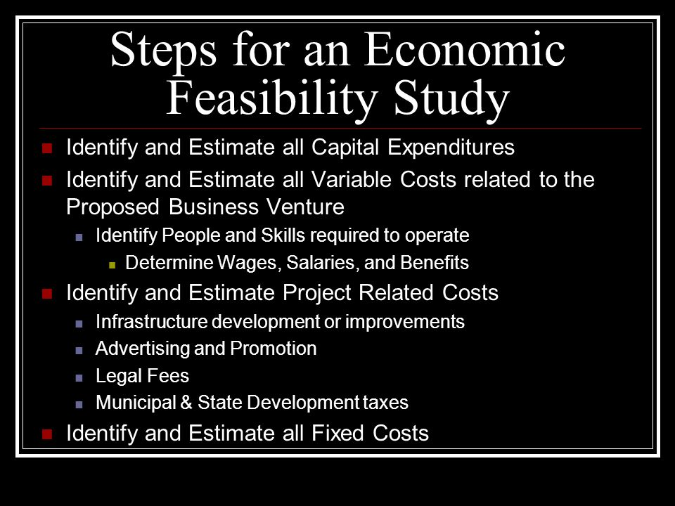 feasibility study economic aspect The market simulation proved the technical feasibility of running several complex  mechanisms  4 analysis of regulatory and economic aspects of a lem 14.