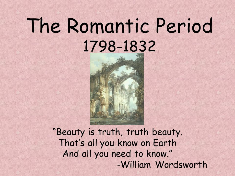 the emergence of romantics during the enlightenment period The age of reason included the shorter time period described as the age of enlightenment during this time great changes occurred in scientific thought and exploration new ideas filled the horizon and man was eager to explore these ideas, freely.