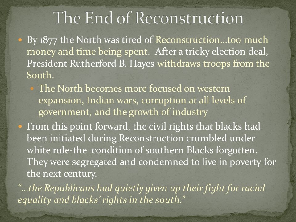 ordeal or reconstruction Ordeal by fire: the civil war and reconstruction, by james m mcpherson (new york: alfred a knopf, 1982 pp 752, illustra.