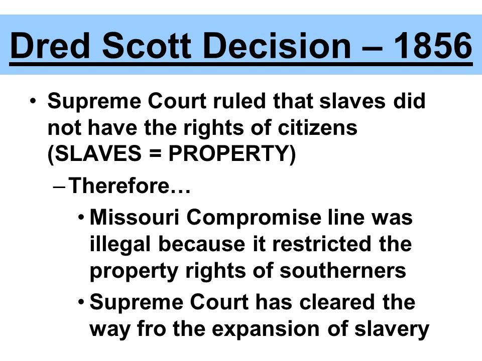 Compromise Causes Of The Civil War Ppt Video Online Download