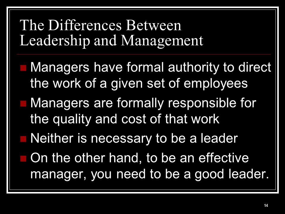 you have to be a good manager to be an effective leader essay You can select any leadership essay as per your interest:  here are a few  leadership qualities you should possess in order to lead others and be  successful in your venture:  this type of leadership style focuses on the boss  here, the.