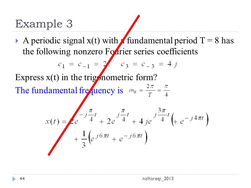 CH#3 Fourier Series and Transform - ppt video online download