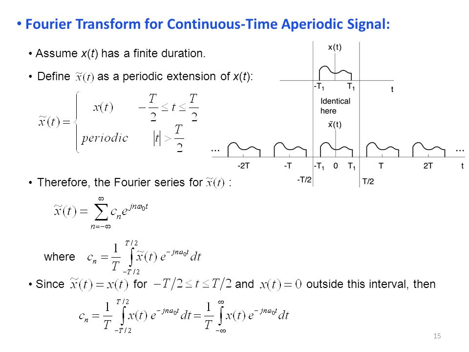 Fourier analysis of signals and systems ppt download - Fourier series transform table ...
