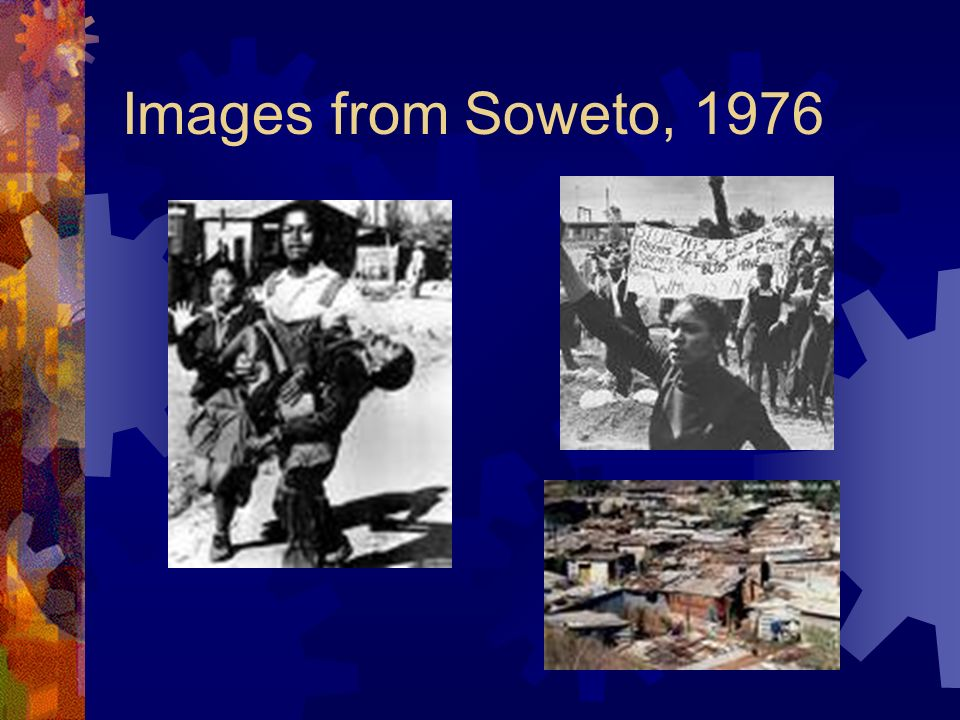 Images from Soweto, 1976