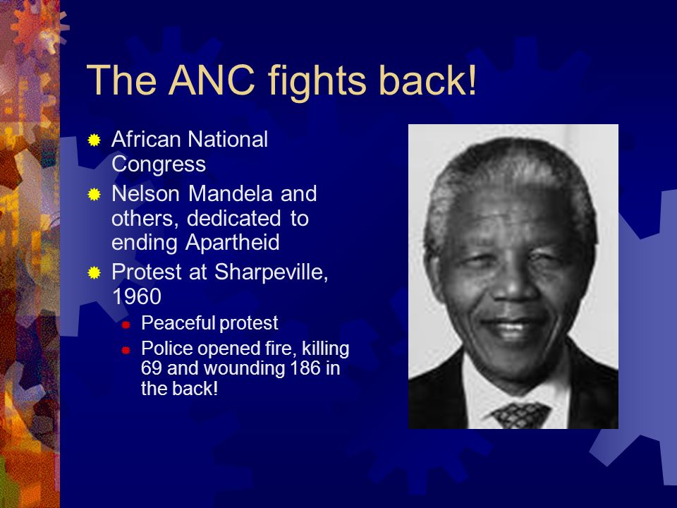 The ANC fights back! African National Congress