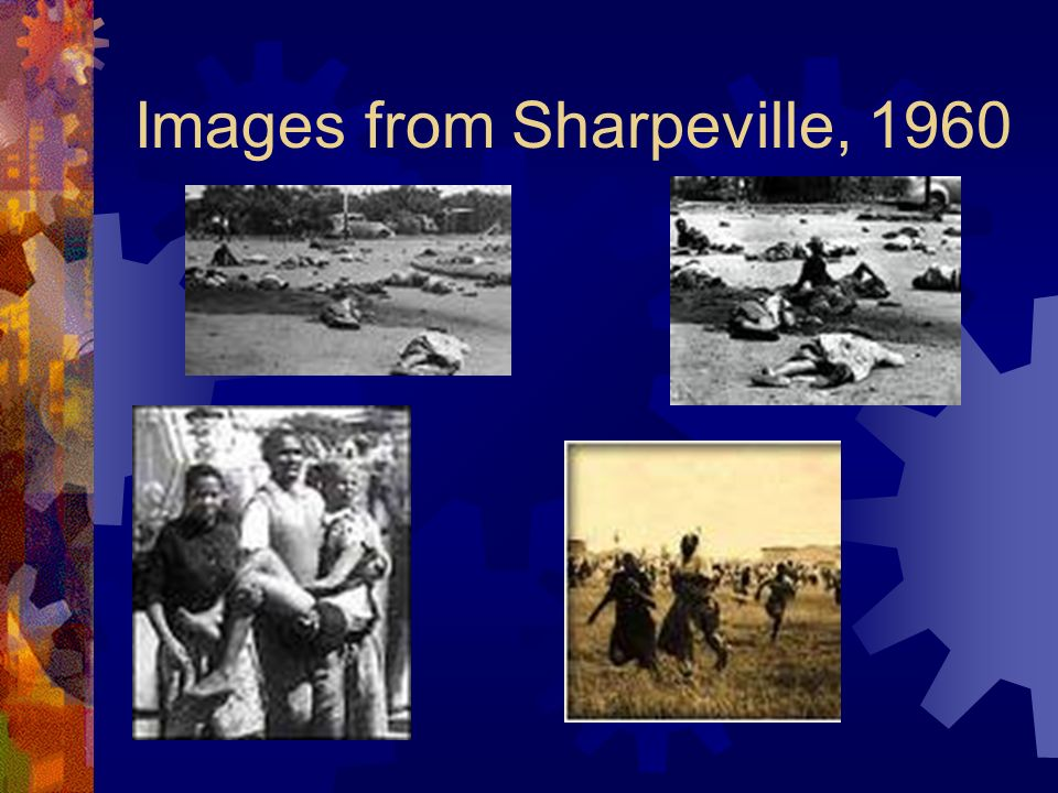 Images from Sharpeville, 1960