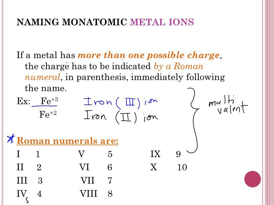 monatomic and polyatomic ions pdf