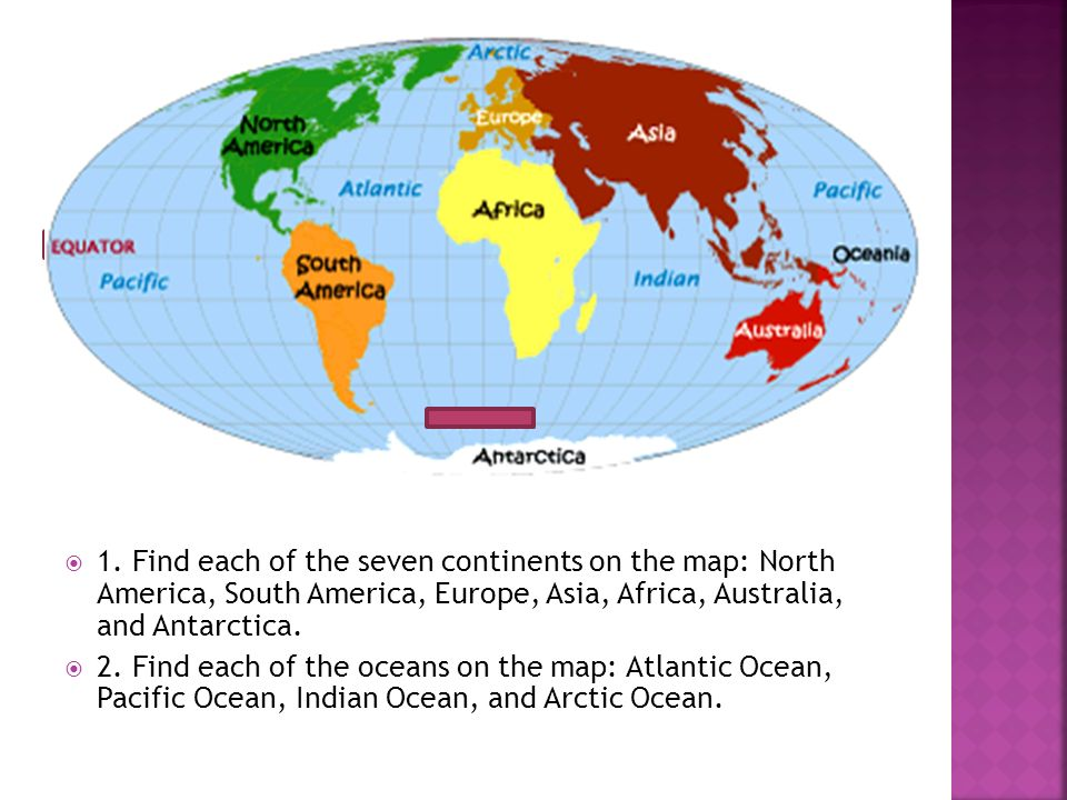 What is a map ppt download find each of the seven continents on the map north america south gumiabroncs Choice Image