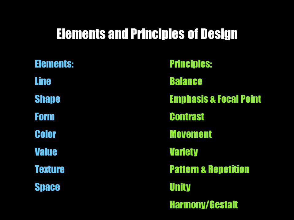 Elements And Principles Of Design Contrast : Elements and principles of design ppt video online download