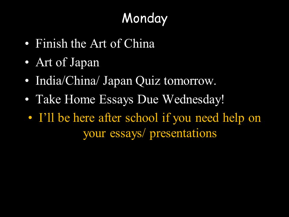 monday finish the art of art of ppt video online  1 monday