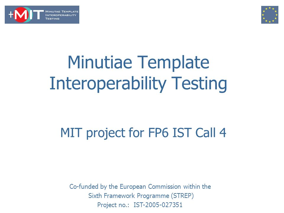 minutiae template interoperability testing - ppt download, Presentation templates