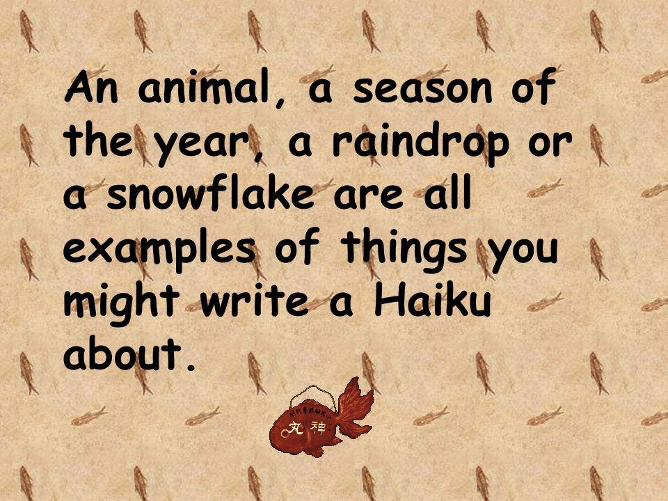 how to write a haiku poem powerpoint