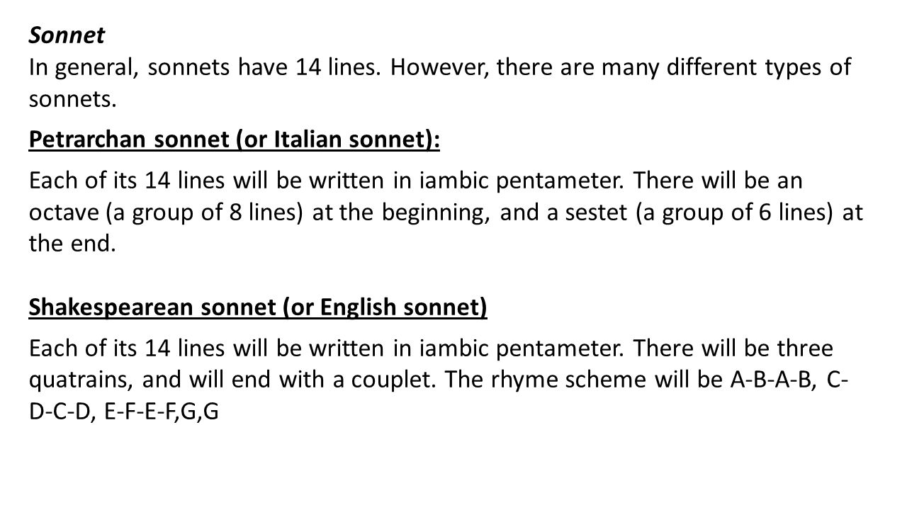 the evolution of the english sonnet Sonnet poems written by famous poets browse through to read poems for sonnet this page has the widest range of sonnet love and quotes.