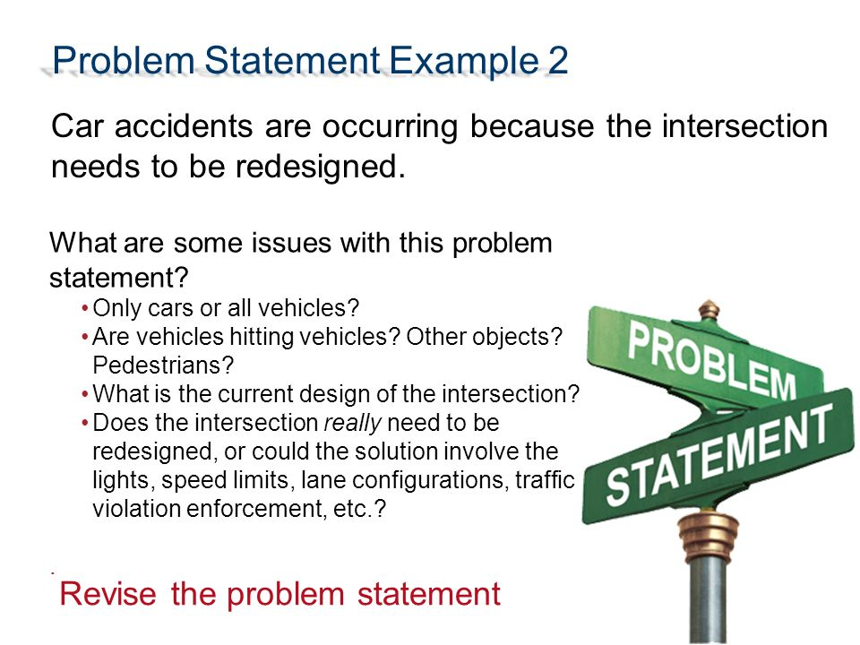 Problem statement template powerpoint
