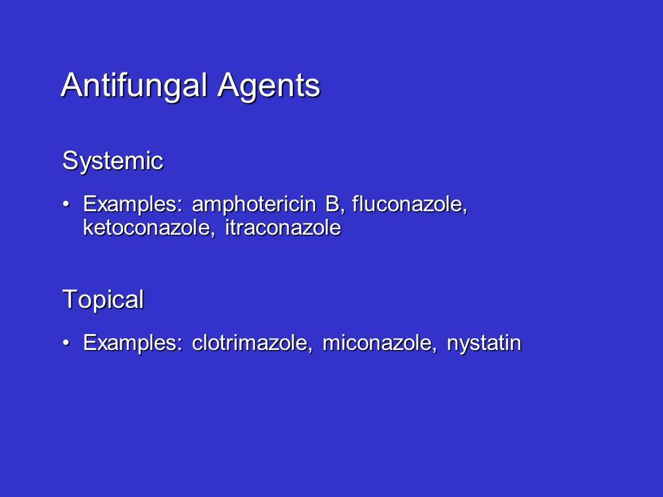 Antifungal Agents Ppt Video Online Download