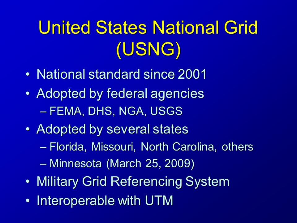 United States National Grid Usng