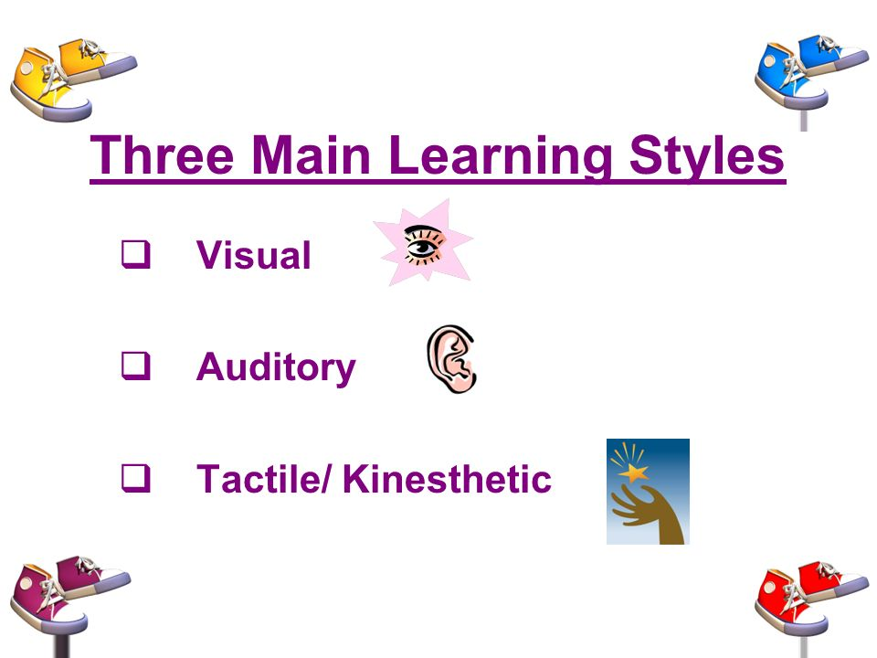 tactile learning style essay Learning styles modality descriptors tactile learners (input) learning logs sequentially organized material, timelines.