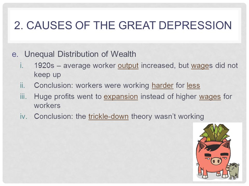 causes of the great depression ppt video online causes of the great depression