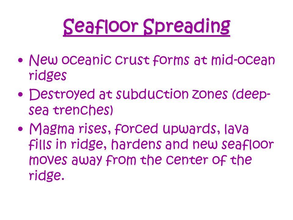 Continental Drift, Seafloor Spreading & Plate Tectonics - ppt ...