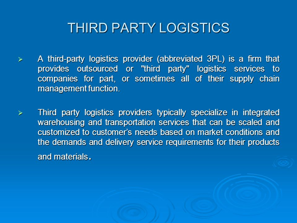 there third party logistics service Trust the third-party logistics services of nationwide 3pl company, united facilities, for warehousing, packaging, transportation, fulfillment, and more.