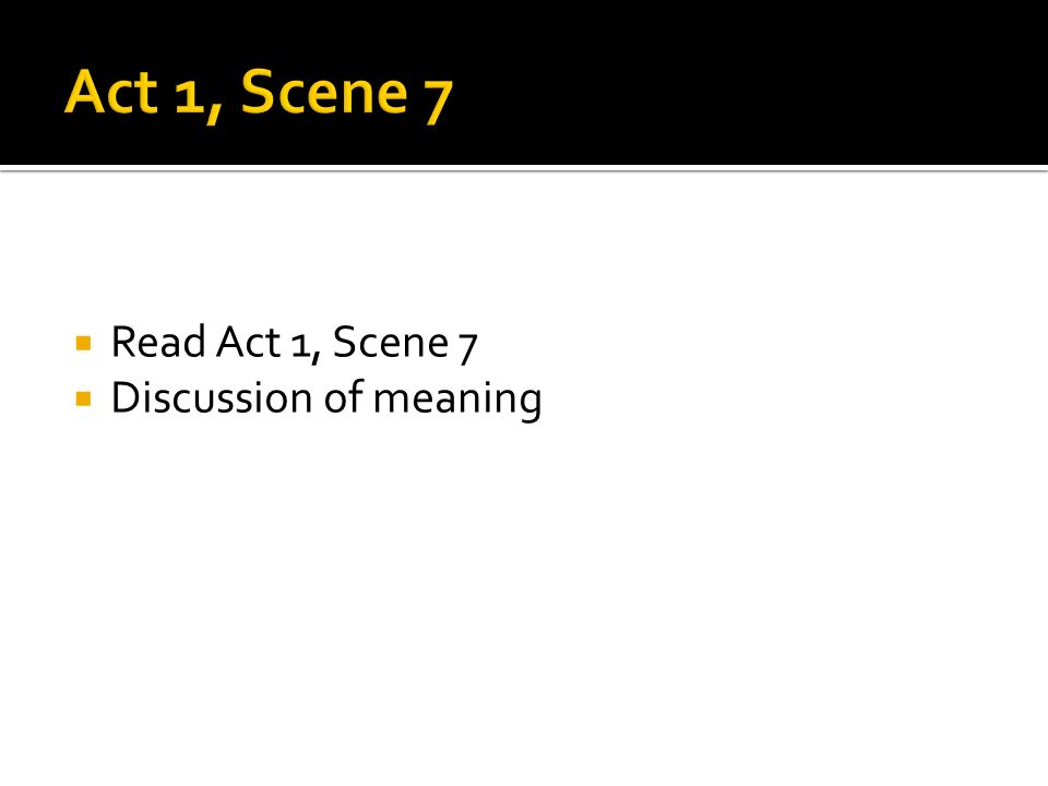 In Act 1, Scenes 5 and 7 of Shakespeare's Macbeth, what are the three soliloquies?