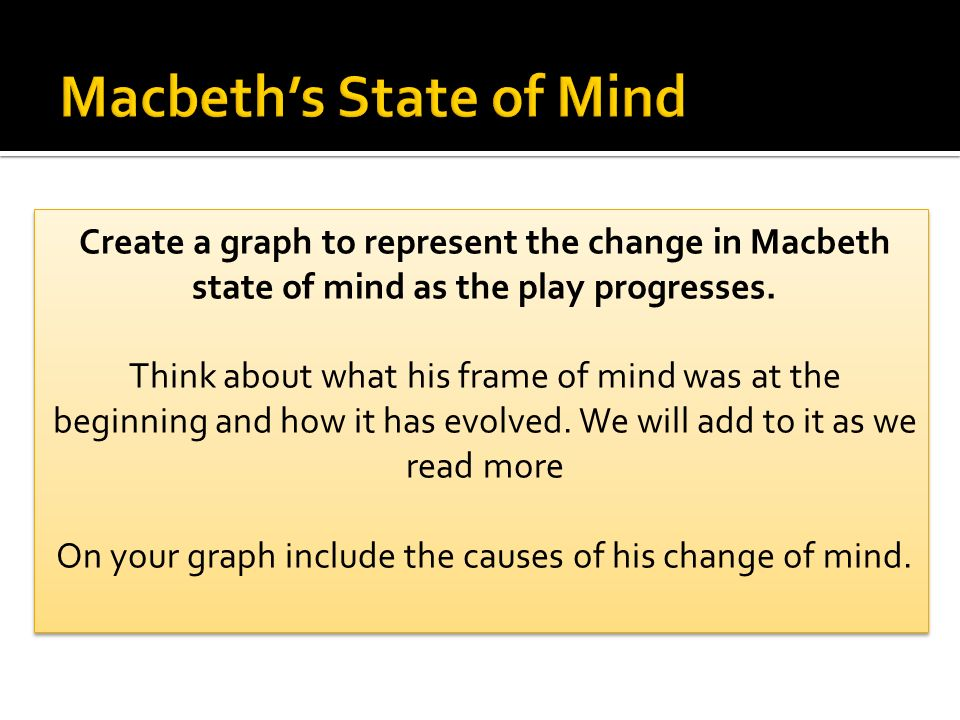 "macbeths mental state with quotes Freebooksummarycom ✅ macbeth's general mental state throughout the play ""  all his earlier work was naturalistic and realistic - finally, in the last paintings,."