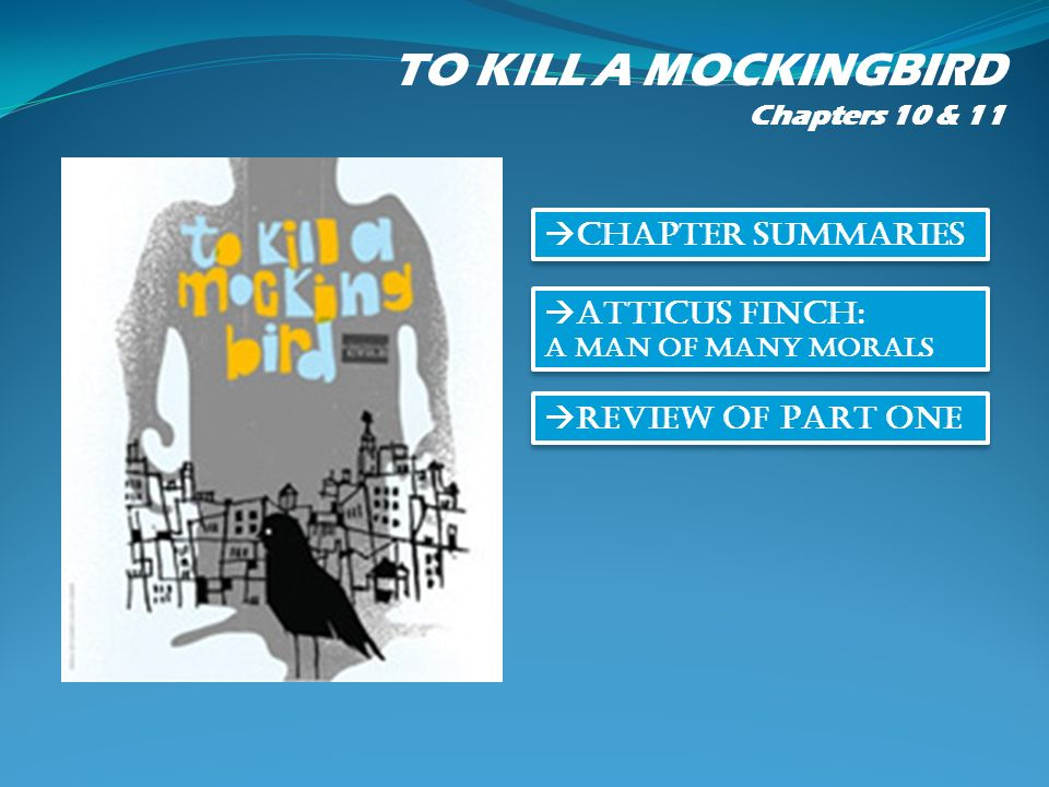 to kill a mockingbird chapter summary From a general summary to chapter summaries to explanations of famous quotes, the sparknotes to kill a mockingbird study guide has everything you need to ace quizzes, tests, and essays.